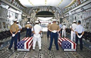 US Military ceremony